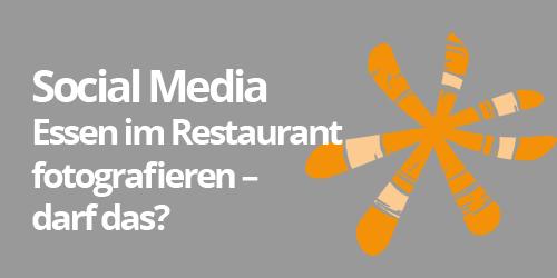 Essen Im Restaurant Fotografieren Darf Man Das Social